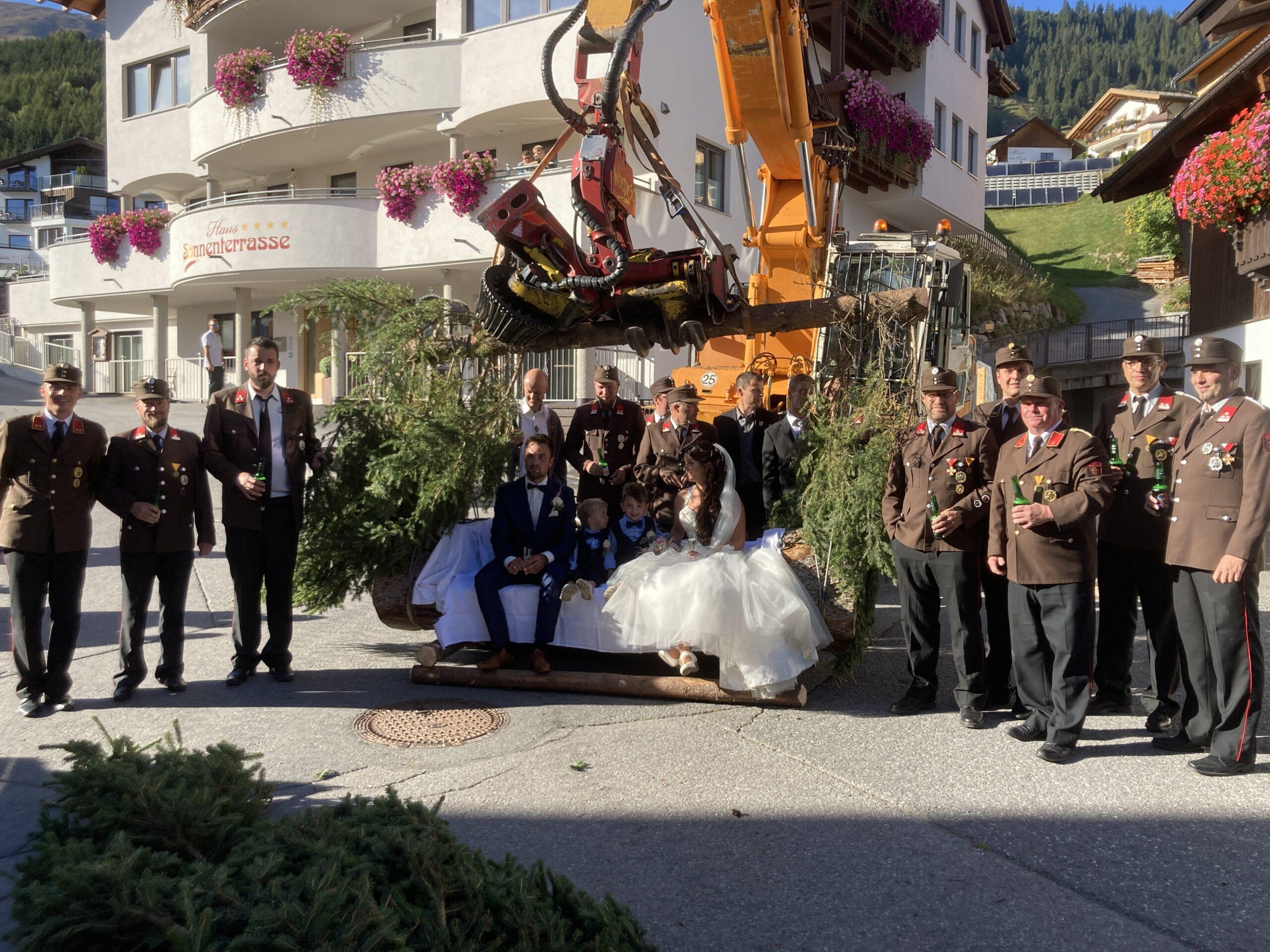Gabriel und Silvia Hochzeit